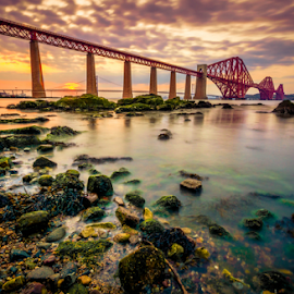 Forth Dusk by Craig Fraser - Landscapes Waterscapes