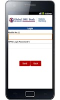 Screenshot of Global Mobile Banking
