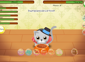 Screenshot of Pet game - Train your cat