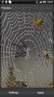 Screenshot of Spider Live Wallpaper