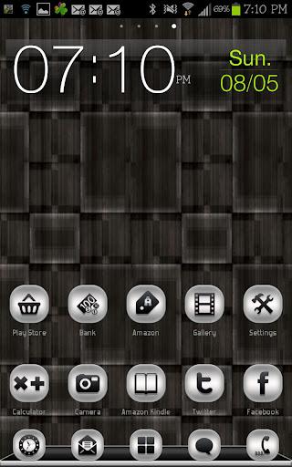【免費個人化App】THEME - Pure Silver-APP點子