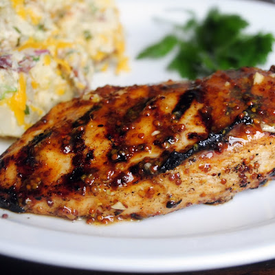 Grilled Honey Mustard Chicken