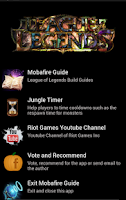 Screenshot of MobaFire Guide
