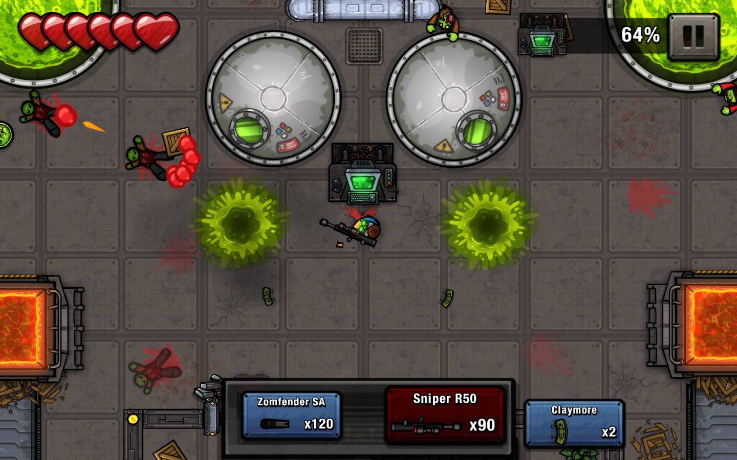 Zombie Scrapper Screenshot 3