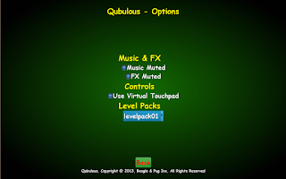 Screenshot of Qubulous