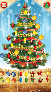 Christmas tree children mosaic - screenshot