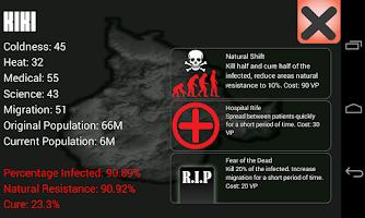 Screenshot of Universe Pandemic