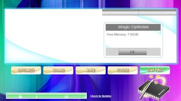 Screenshot of Magic Memory Optimizer
