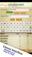 Screenshot of Word Breaker (Scrabble Cheat)