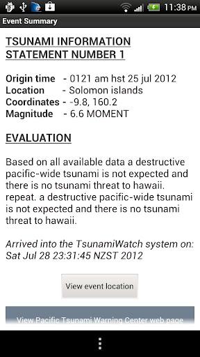 【免費工具App】Tsunami Watch-APP點子