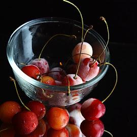 Frozen Cherries @3 by Rakesh Syal - Food & Drink Fruits & Vegetables