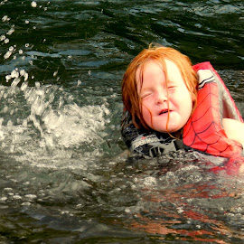 Future Olympian by Liz Hahn - Sports & Fitness Watersports