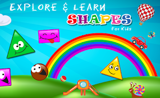 Screenshot of Shapes for Kids