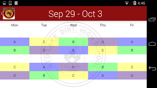RLDHS Agenda - screenshot
