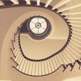 Spiral Staircase by Wendy Garfinkel-Gold - Instagram & Mobile iPhone