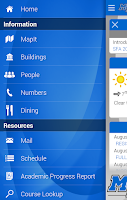 Screenshot of MTSU Mobile