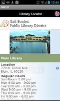 Screenshot of Gail Borden Public Library