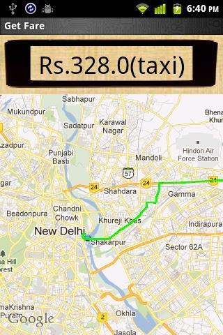 【免費交通運輸App】Taxi Fare Calculator-APP點子