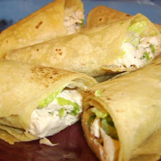 Tarragon Chicken Salad Wraps