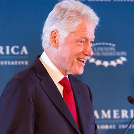 President Bill Clinton speaking at the Clinton Global Initiative by Hans Watson - News & Events US Events