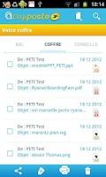 Screenshot of Digiposte