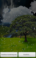 Screenshot of Animated Weather LWP Trial