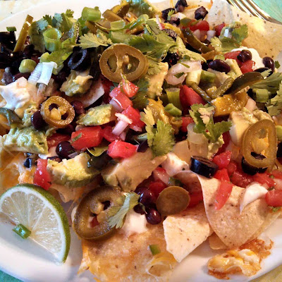 Meatless Monday ~ Meatless Nachos