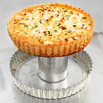 Cheese and Vegetable Wholewheat Flan