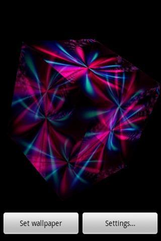 3D colorful light