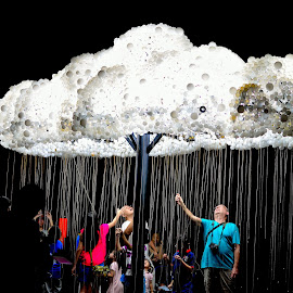 Cloud - iLight Marina Bay by Meidy Huang - News & Events Entertainment ( #cloud #ilight #singapore )