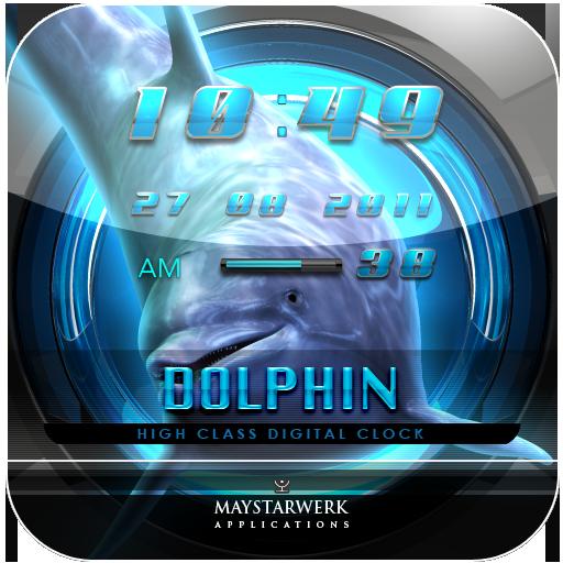 海豚時鐘部件 生活 App LOGO-APP試玩