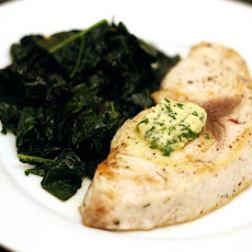 Dinner Tonight: Swordfish with Lemon Herb Butter