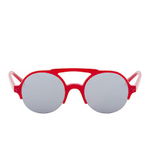 Facetasm Red Safari Sunglasses