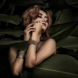 Queen at Forest by M Januar Putera - People Fashion ( mjep photoart )