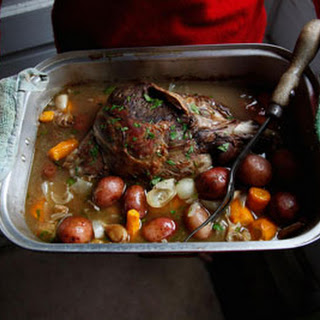 Braised Leg of Lamb