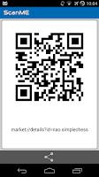 Screenshot of ScanME  Barcode Scanner
