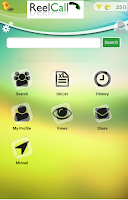 Screenshot of Reelcaller Plus- mobile number