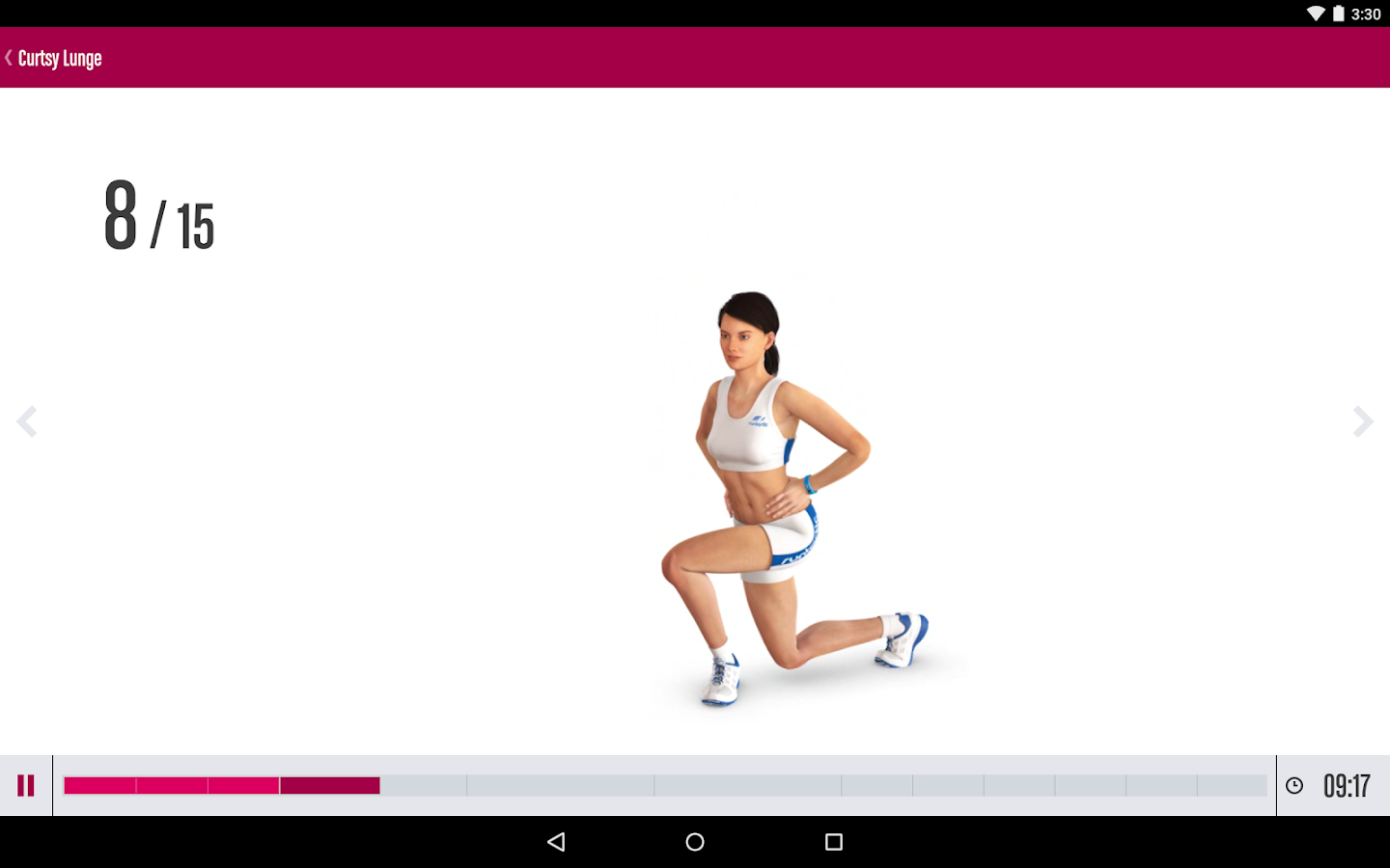 Runtastic Butt Trainer Workout Screenshot 6