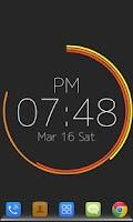 Screenshot of Polar Clock Free