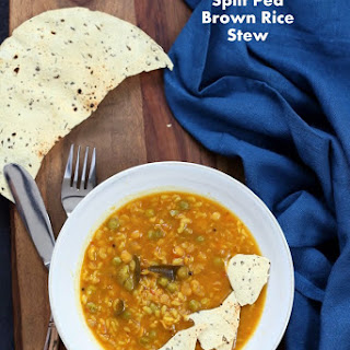 Bisi Bele Bath Pressure Cooker Split Pea Brown Rice Soup