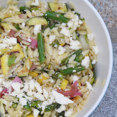 Orzo with Grilled Vegetables