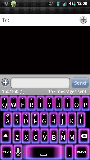Girly Glow Keyboard Skin