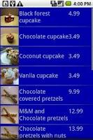 Screenshot of Mobile Road Warrior Invoice Tr