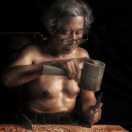 by German Kartasasmita - People Portraits of Men