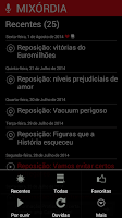 Screenshot of Mixórdia