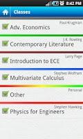 Screenshot of Everstudent Student Planner