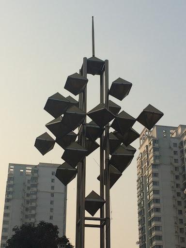 喻园小区雕塑2号