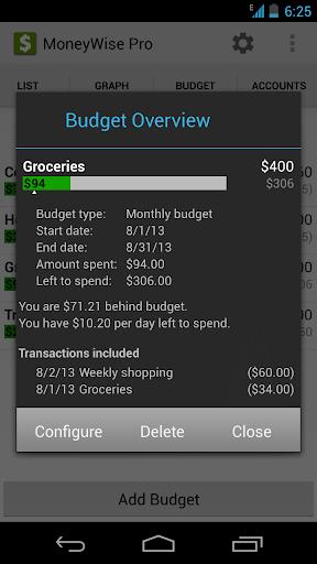 MoneyWise Pro - screenshot