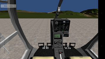 Screenshot of Helicopter simulator