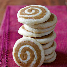 Ginger-Lemon Pinwheel Cookies
